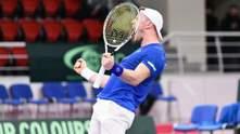 Стаховский проиграл Лешему в Кубке Дэвиса, а Израиль сравнял счет