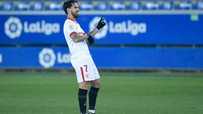 Как игрок Севильи чуть ли не с центра поля забил фантастический гол в Ла Лиге: видео