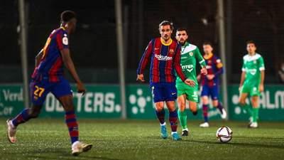 Не забили два пенальти: Барселона едва переиграла команду третьего дивизиона – видео