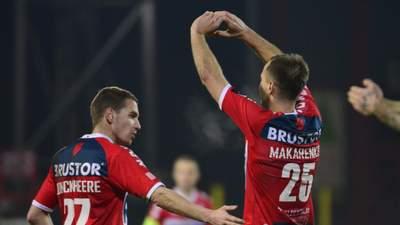 Украинец Макаренко забил невероятный гол за Кортрейк в чемпионате Бельгии: видео