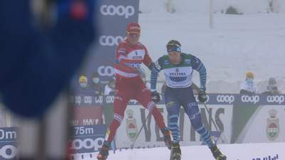 Збірну Росії з лижних гонок дискваліфікували за дику витівку на Кубку світу: відео ганьби