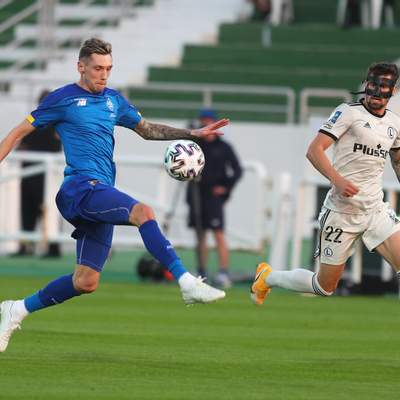 Динамо проиграло дебютный матч в 2021 году: Беседин впервые сыграл после дисквалификации – видео