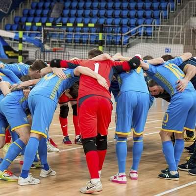 УЄФА скасував матч збірної України у відборі на Євро-2022 з футзалу: деталі