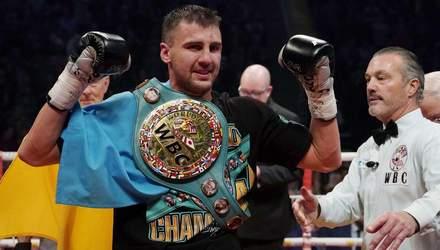 Гвоздик получил именной пояс от WBC: видео вручения