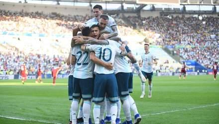 Аргентина та Чилі вийшли у півфінал Копа Америка-2019: відео