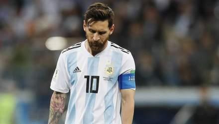 Мессі несподівано залишили поза списком найкращих гравці Копа Америка