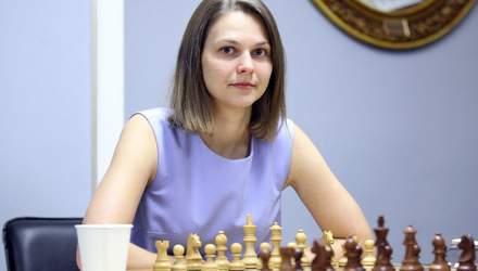 Анна Музичук пояснила, чому шахи це спорт: партії можуть тривати до 7 годин
