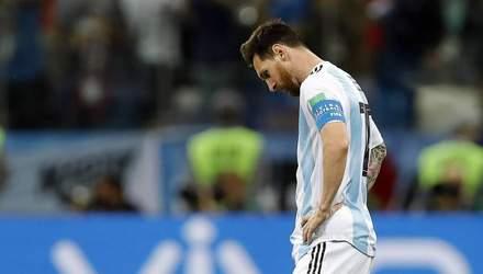 Мессі отримав сувору дискваліфікацію в збірній Аргентини: відомо причину