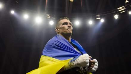 Усик завершил подготовку к дебютному бою в супертяжах: фото