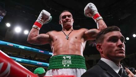 Усик после дебютного боя в супертяжах вошел в топ-5 рейтинга по версии WBC