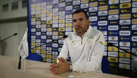 Мы должны знать, на кого можем рассчитывать, – Шевченко об игре сборной Украины