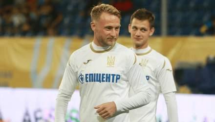 Определен самый лучший футболист матча Украина – Эстония