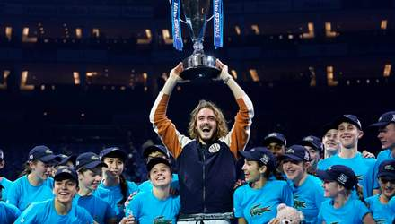 Юний Ціціпас несподівано переміг Тіма у фіналі Підсумкового турніру ATP: фото