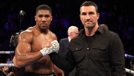 Кличко назвал лучшего боксера мира в супертяжелом весе