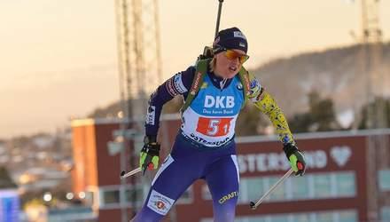 Чемпионат Европы по биатлону: две украинки в топ-10