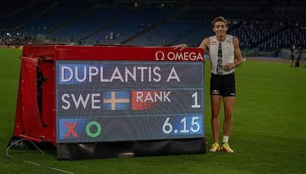 20-річний швед Дуплантіс побив останній рекорд Сергія Бубки: відео
