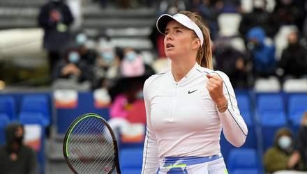 Свитолина с трудом одолела россиянку и вышла в 1/8 финала Ролан Гаррос
