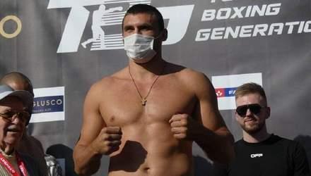 У украинского боксера Вихриста внезапно сменился соперник за два дня до боя