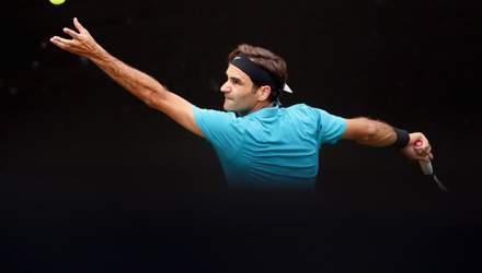 Роджер Федерер встановив черговий дивовижний рекорд