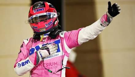 Перес здобув дебютну перемогу у Формулі-1, Леклер та Ферстаппен провалили старт