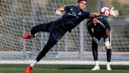 Украинец Лунин побил рекорд вратарей в Реале