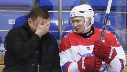 Путину запретили посещать чемпионаты мира и Олимпийские игры