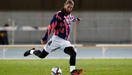 Фантастика на тренировке Реала: как Рамос забил красивый гол в ворота Лунина – видео