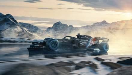 Формула-1: Alpine представила ліврею – за команду виступатиме Фернандо Алонсо