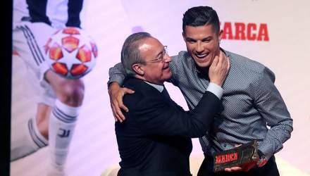 Повернення зірки: Роналду провів розмову з президентом Реала на базі Ювентуса