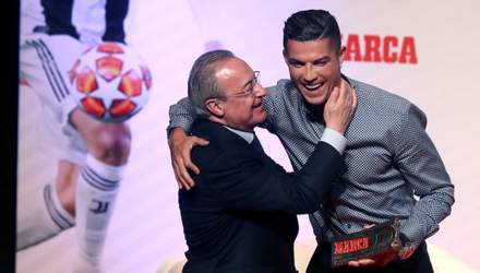 Возвращение звезды: Роналду провел разговор с президентом Реала на базе Ювентуса