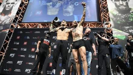 Конор МакГрегор – Дастін Пор'є: де дивитися онлайн бій UFC 257