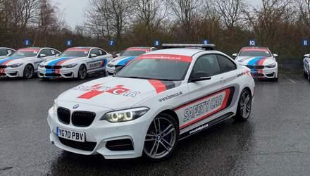 В Англії з гоночної траси викрали спеціальні автомобіль безпеки та машину медиків BMW