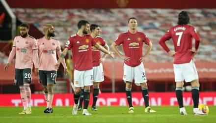 Курйозний гол приніс аутсайдеру АПЛ Шеффілд Юнайтед сенсаційну перемогу над МЮ: відео