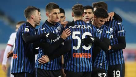 Аталанта неожиданно уступила Лацио в Серии А: Малиновский сыграл половину матча – видео