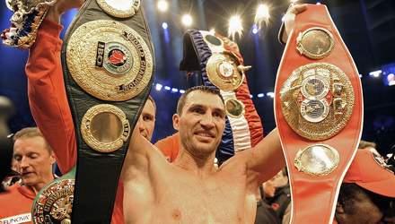 Владимир Кличко признан лучшим боксером тяжелого веса, Усик – в топ-10