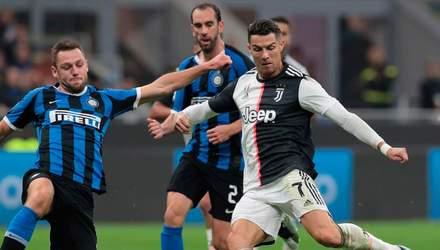 Дубль Роналду в матчі з Інтером наблизив Ювентус до фіналу Кубка Італії: відео