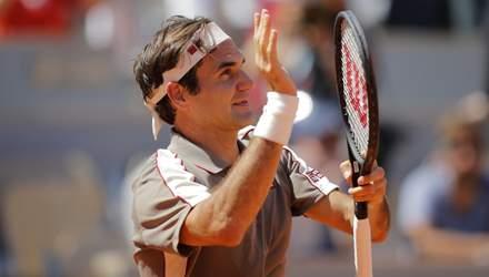 Повернення короля: Роджер Федерер назвав турнір, на якому виступить вперше після травми