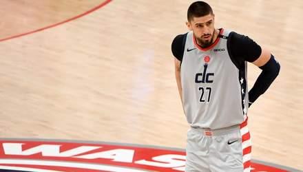 Лень допоміг Вашингтону вирвати перемогу в НБА