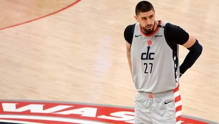 Лень помог Вашингтону вырвать победу в НБА