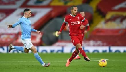 МанСіті розгромив на виїзді Ліверпуль, воротар Аліcсон двічі допустив грубі помилки: відео