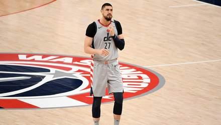 Вашингтон з Ленем у старті зазнав чергової поразки в НБА