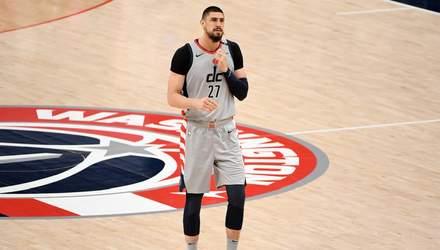 Вашингтон с Ленем в старте потерпел очередное поражение в НБА