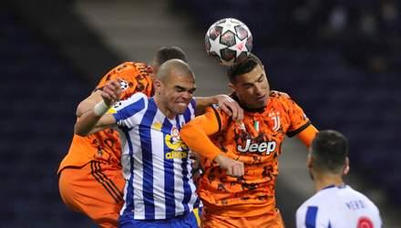 Ювентус сенсационно проиграл Порту в матче Лиги чемпионов: видео