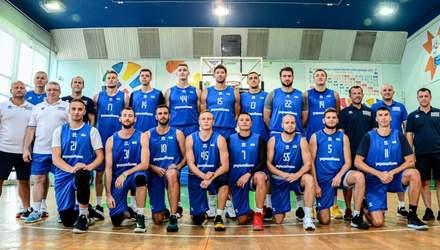 Збірна України оголосила повний склад на матчі відбору на Євробаскет-2022