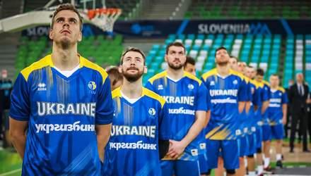 Названо розширений склад збірної України на заключні матчі кваліфікації Євробаскета-2022