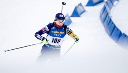 """Шведка Еберг знову вкрала в України медаль чемпіонату світу з біатлону, Франція в """"золоті"""""""