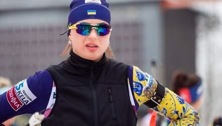 """0,2 секунди до """"бронзи"""": біатлоністка з України Кривонос зупинилась за крок до медалі"""