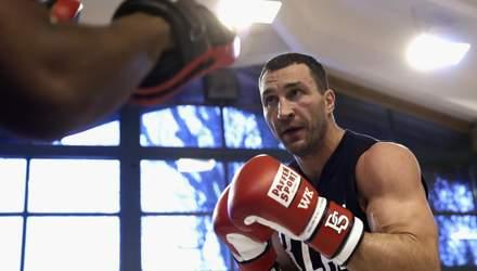 Чекаємо повернення: 44-річний Володимир Кличко показав відео зі спарингу