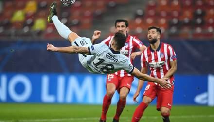 Челси вырвал победу у Атлетико в Лиге чемпионов благодаря шикарному голу Жиру: видео