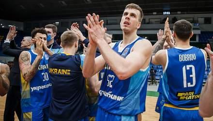 Сборная Украины разгромила Венгрию и выиграла группу в отборе на Евробаскет-2022